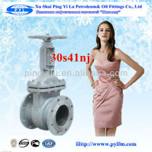 Xushui pingyilu ruso Gost normas de acero al carbono válvula de compuerta en aceite industrial
