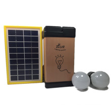 3W Emergency Manufacturer Factory Solar LED Lighting System for Outdoor Camping