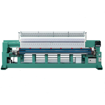 Professional computerized multi-needle embroidery quilting equipment for fabric