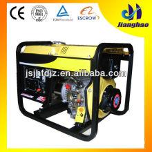 Heißer verkauf 5kw luftgekühlten diesel generator 5kw tragbaren generator