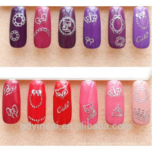 Яркий цвет платье ногтей украшения наклейки татуировки поставок в Китай