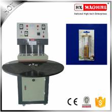 O CE aprovou a máquina plástica da selagem do calor do cartão do papel da bolha / máquina da selagem da bolha feita em China