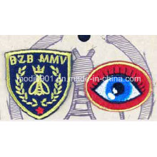 News Eyes Embroidery Badge Decoration Gift