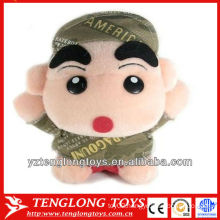 2014 hot sale stuffed children toys plush toy doll with a hat