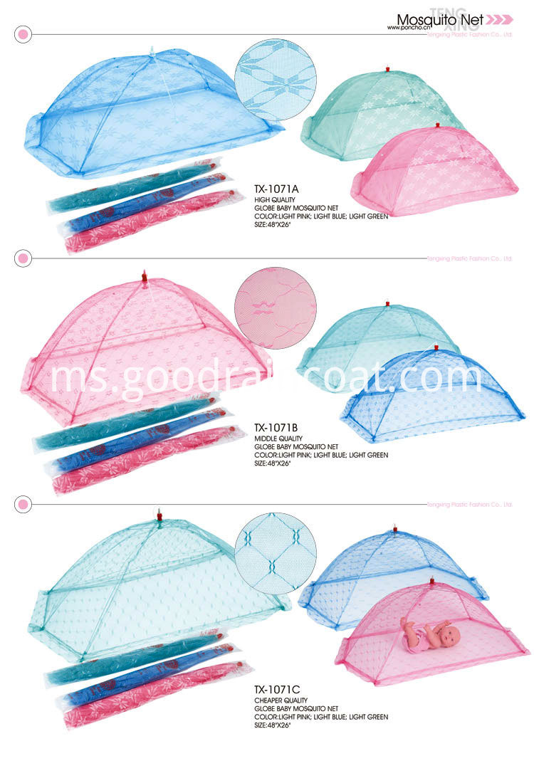 Color Mosquito Net
