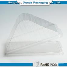 Прозрачная пластиковая упаковочная коробка