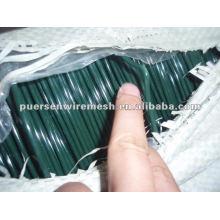 Alambre de PVC revestido del hierro