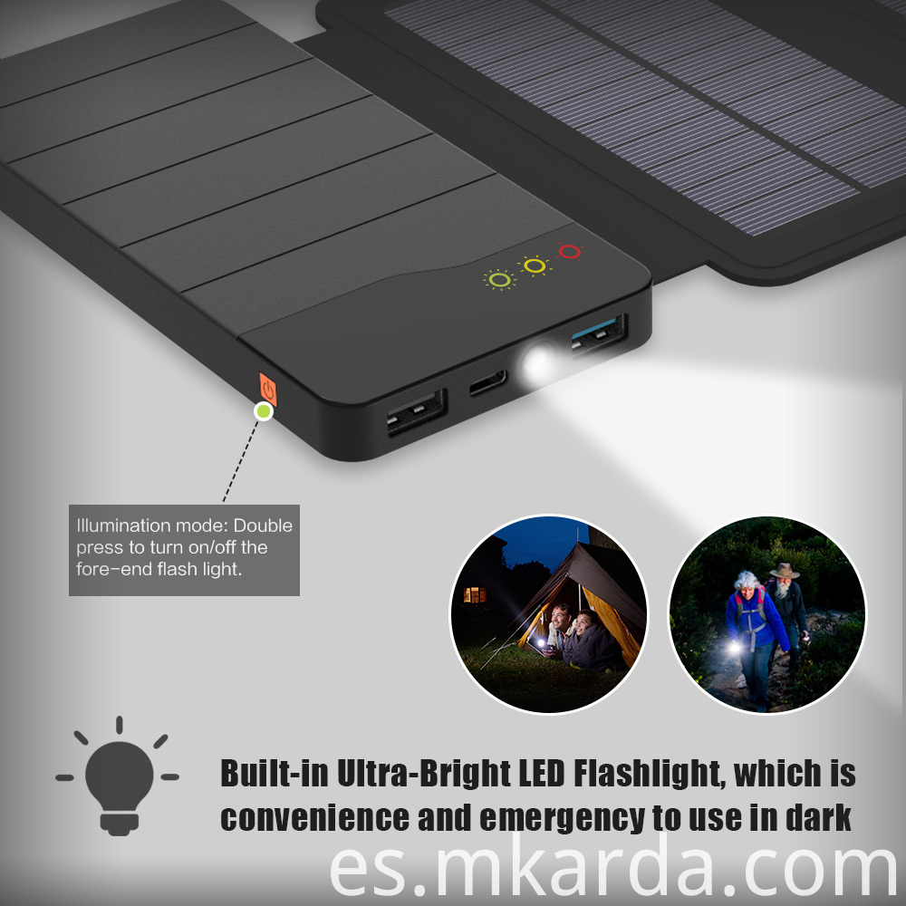 6W Solar Powerbank