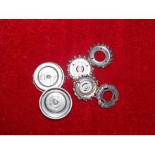Pièces métalliques de composant d'estampage de précision personnalisé