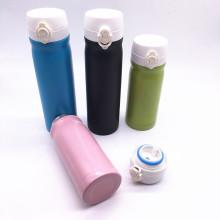 Flacon à vide en acier inoxydable à double couche de 500 ml avec peinture en couleurs