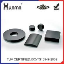 Kundenspezifische industrielle dauerhafte gesinterte Ferrit-Lautsprecher-Magneten für Motor