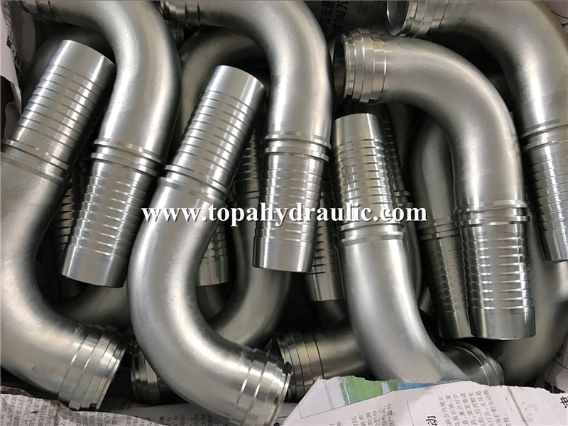 Pneumatic water hose braided air line fittings