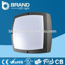 Aluminium + PC Cover IK10 IP65 Lampes murales d'éclairage extérieur, éclairage mural LED extérieur