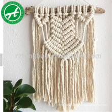 100% natural cotton twine cotton string for macrame wall hanging