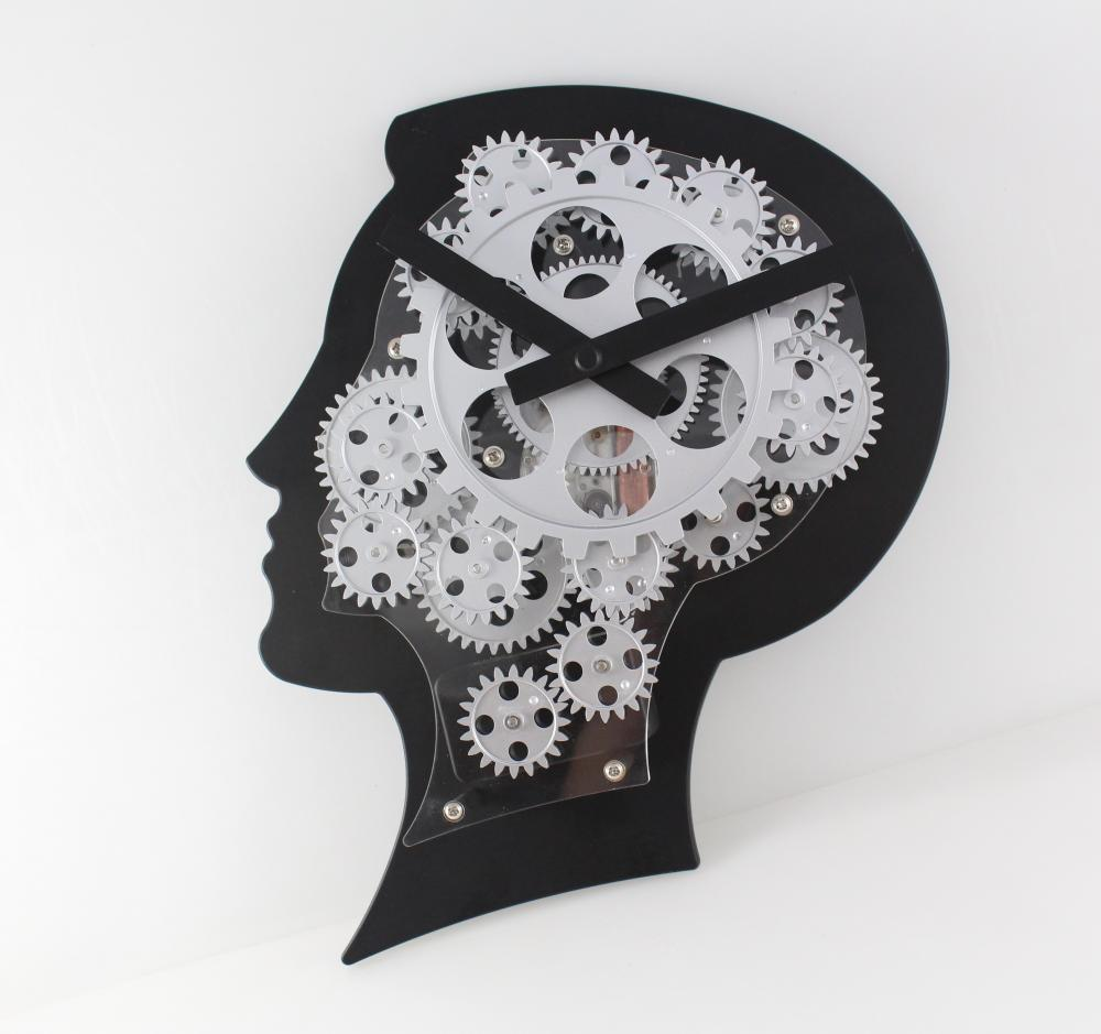 Super Brain Mode Gear Reloj de pared