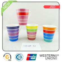 Tasse en porcelaine haute magnésie de Quanlity avec décalque