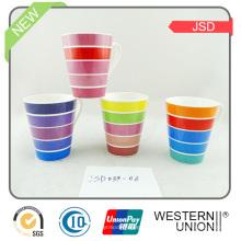 Tasse en porcelaine à haute qualité Quanlity avec décalque