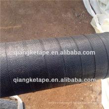 Recubrimiento aplicado en frio tejido de polipropileno tejido tubo de refuerzo envoltura de cintas protección contra la corrosión de tuberías nuevas y existentes