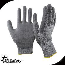 SRSAFETY 13 калибр Cut level 5 защитные перчатки режущее стекло