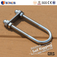 Stainless Steel U Bolt with Washer and Nuts