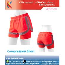 compression short / women double up short / training short