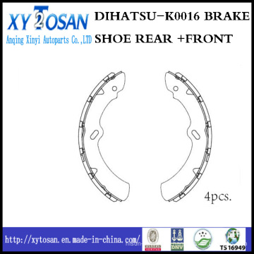 Car Brake Shoe for Dihatsu K0016