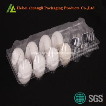 Embalagem de ovos de plástico transparente a vácuo