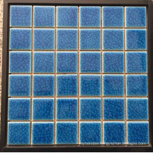 Glass /Ceramic Mosaic Pattern Design Swimming Pool Mosaic