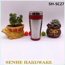 450ml doppelte Wand-automatische Siegel-Kaffeetasse (SH-SC27)