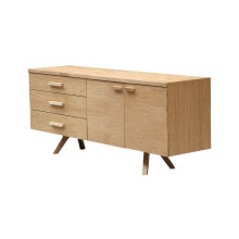 Charles retro modern credenza cabinet sideboard