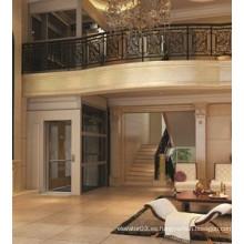Diseño agradable para elevador de casa ascensor 400kg uso de 5 personas
