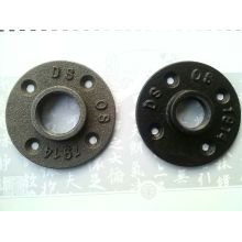 DN 25 black cast Iron floor flange