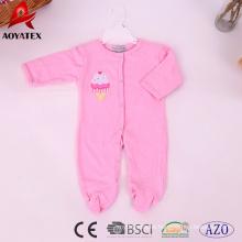 nuevo estilo 100% algodón bebé monos ropa de bebé mamelucos