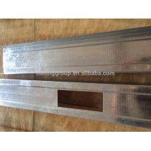 Canal de metal galvanizado C para parede systerm