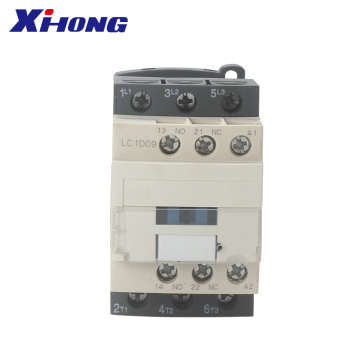 3 phase LC1D09 3P+NO 9A Electrical AC Contactor