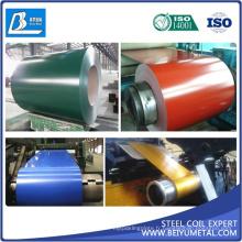 Tdc53D + Z PPGL PPGI CGCC usine de bobine en acier prépeinte