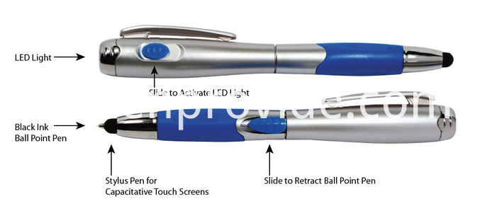 Lightpen with Stylus