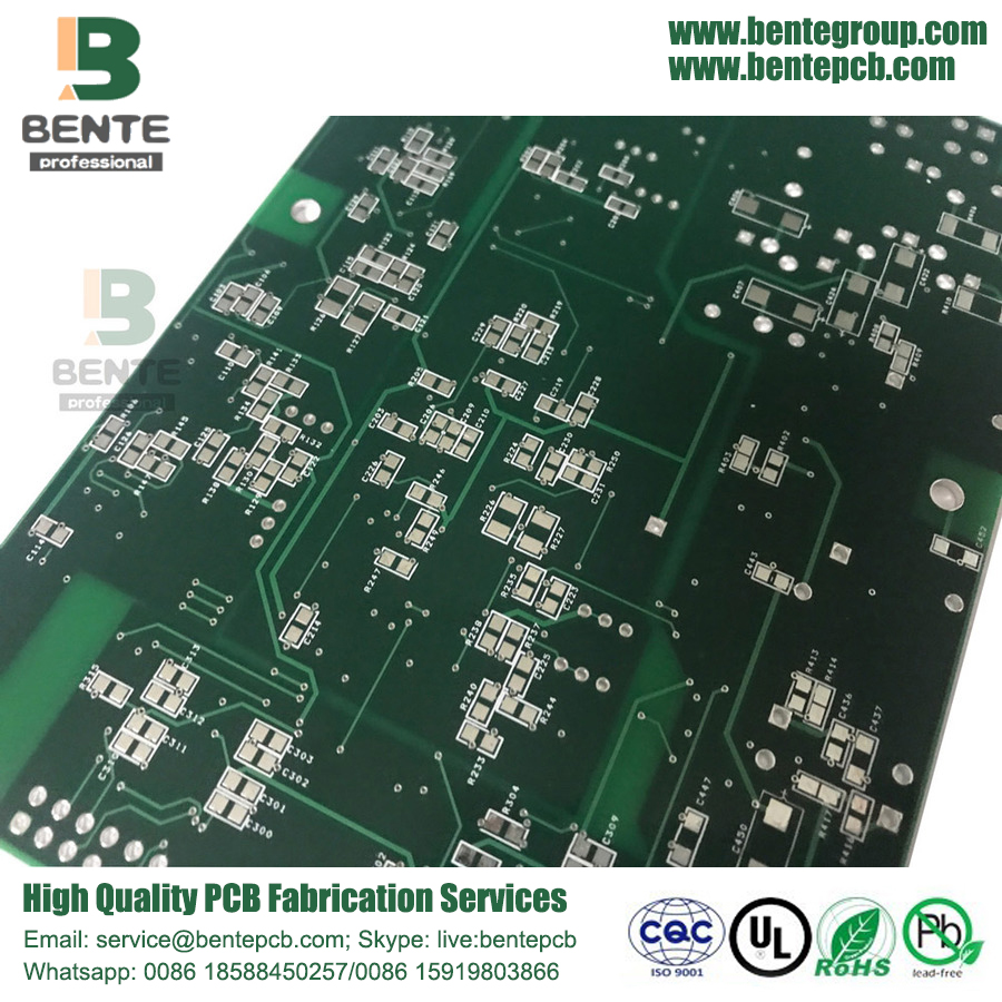 4 couches PCB standard FR4 Tg150 1oz
