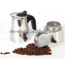 Espressokaffeemaschine Moka Gaskocher Topf