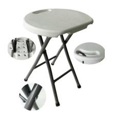 Leito leve rodada dobrável, tambor porta pequeno portátil, baixo preço prateleiras plásticas plissadas feitas na China