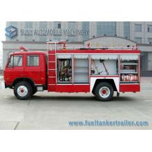 Dongfeng 2axles 6m3 eau et camion de lutte contre l'incendie de réservoir de mousse