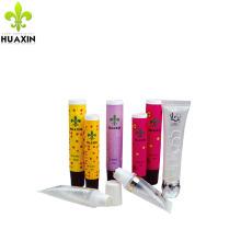 tubo plástico cosmético del tubo del lipgloss para el empaquetado de los cosméticos