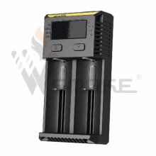 New Vision Nitecore Nouveau Chargeur de batterie I2 Faster 18650 26650