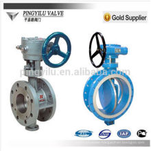 3 way electric actuator cast steel rising stem gate valve