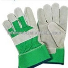The China supplier of the cheap cow/ sheep split welding gloves