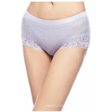 Calcinha de algodão sem costura de Lingerie sexy Lace para mulheres