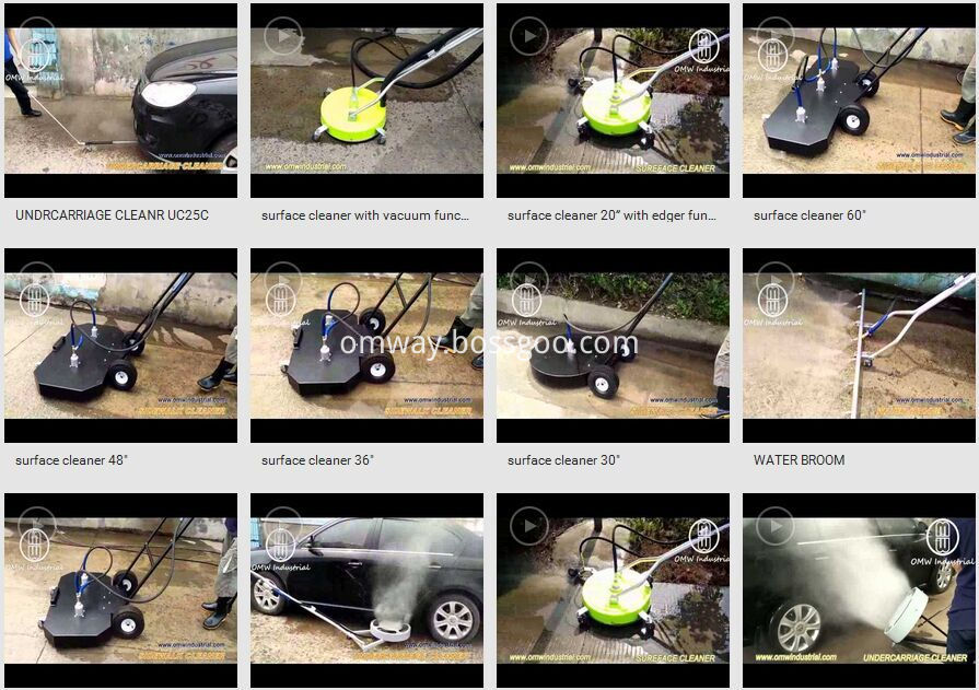 Surface cleaner video, Pressure Washer 4000 PSI 16