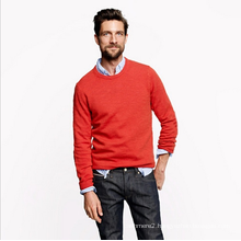 men's 100%cashmere jumper knitwear winter color pure cashmere thin pullover under shirt sweater