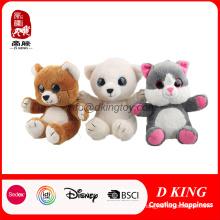 Big Eyes Plush Doll Bear Recheado Soft Teddy Bear Toy