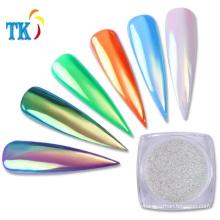 Aurora Mermaid Pigment Powder/Mirror effect aurora chameleon nail art powder
